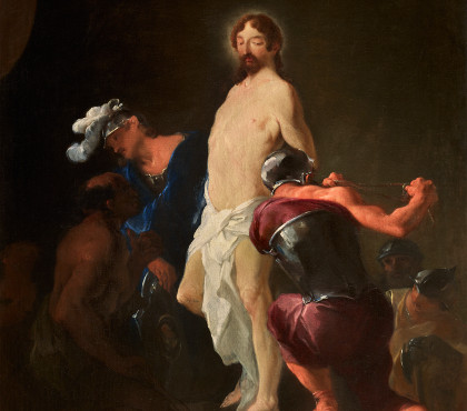 Christ taken by the soldiers